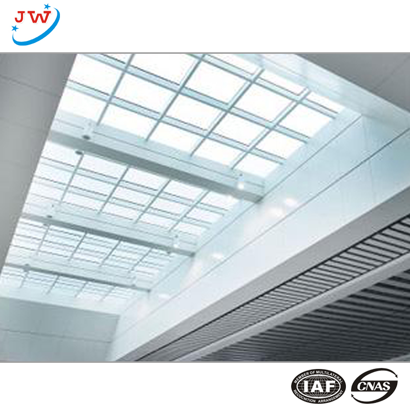 interior glass curtain wall