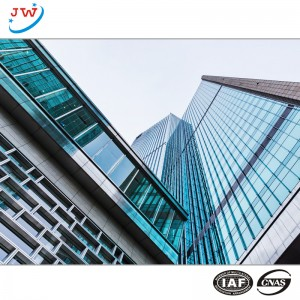 double glass curtain wall