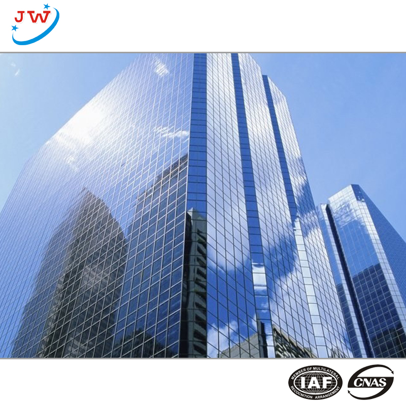glass curtain wall building